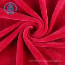 supersoft plush fleece fabric plush velvet fabric upholstery plush fabric for making soft toys