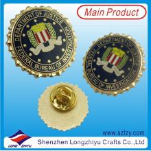 Gute Qualität Bunte Metall Abzeichen Pin mit Custom Design
