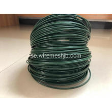 Mörkgrön PVC Coted Iron Wire