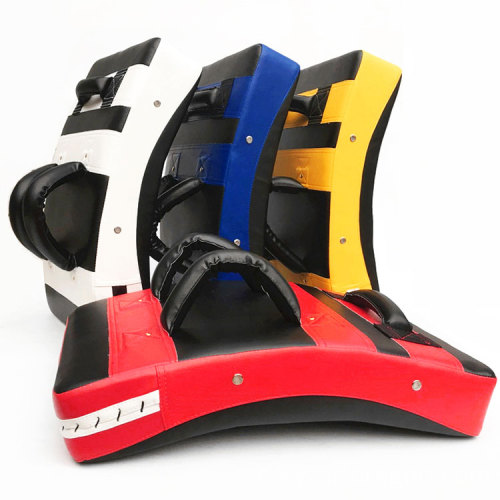 Durable Fight Punch Bag Foot Target Sport Training Curved Boxing Taekwondo Kicking Pads