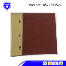 latest sandpaper/sanding sheet manufacture in China