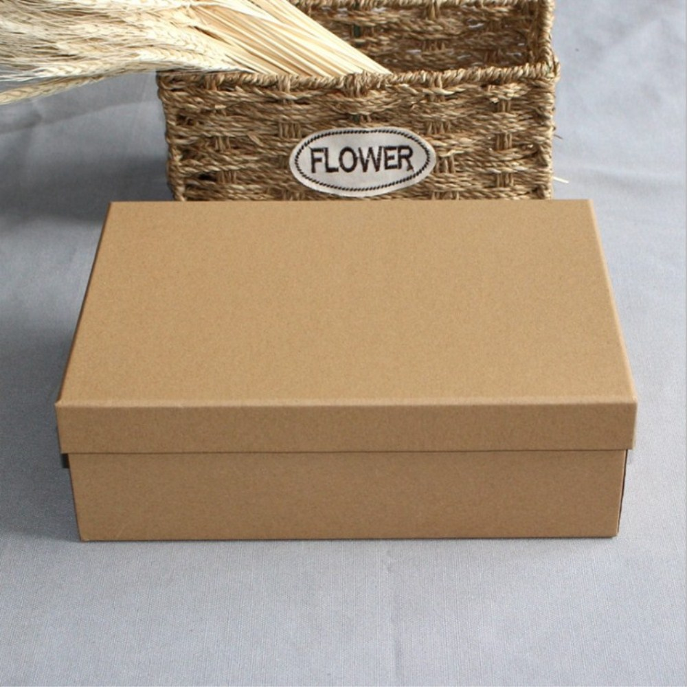 Natural Kraft One-Piece Gift Boxes