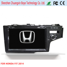 Reproductor de DVD de coche de navegación GPS para Honda Fit 2014