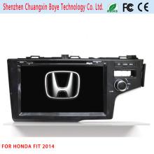 GPS de navegação do carro DVD Player para Honda Fit 2014