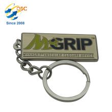 Faites votre propre porte-clé en métal 3D de logo partie Personnalisé porte-clés en métal fait sur commande d'anniversaire