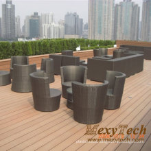 Foshan Wood Plastic Composite Wood Bench (SB03)