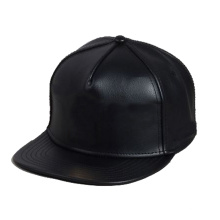 Wholesale Plain Design Your Own Leather Snapback