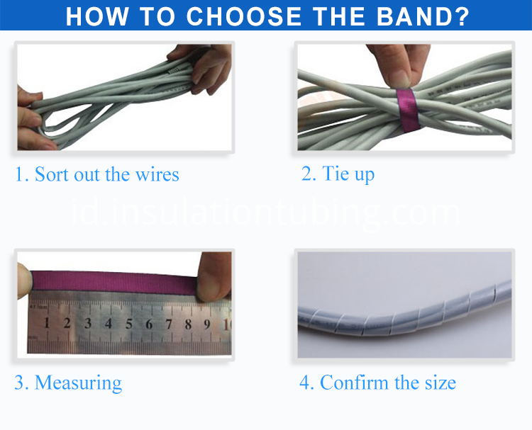 PE Spiral Wrapping Bands