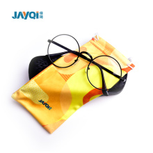 Fashion Microfiber Cloth Eyeglasses Bags with Printing