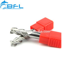 Cortador de trituração do carboneto de BFL 3 cortador de trituração espiral de alumínio do Endmill da flauta do moinho de extremidade da flauta