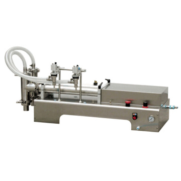 Petite machine de remplissage de jus de machine de remplissage liquide manuelle