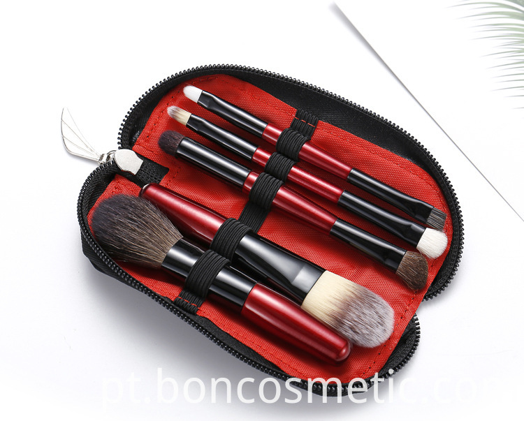 5pcs Makeup Brush Set