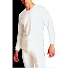 Forro polar de la ropa interior del 65% poliéster 35% algodón de los hombres dentro