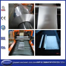 Papier d'aluminium de cuisine rebobinage et Machine de coupe