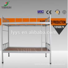 School furniture single metal bunk bed