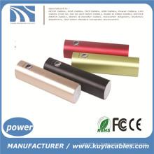 Портативный мини-USB внешний зарядное устройство банка питания для сотового телефона 2200, 2600,3200 мАч