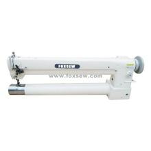 Máquina resistente extra da alimentação longa do uníssono da cama do cilindro da agulha do braço longo