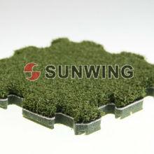 Блокировки искусственная трава плитка головоломка Коврик для напольного украшения DIY