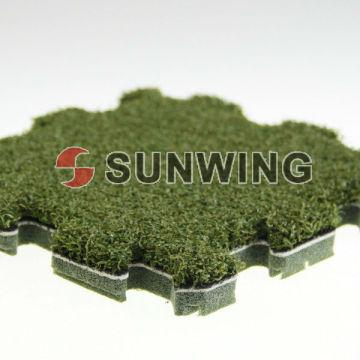 Enclavamiento artificial hierba Puzzle Mat Mat para decoración al aire libre DIY