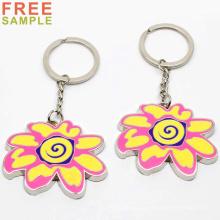 Custom Cheap Metal Keychain Manufacturers Wholesale Promotion Key Ring Souvenir Custom 3D Metal Logo Key Chain