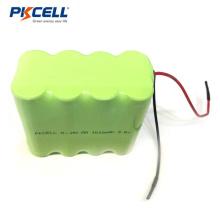 NI-MH 9.6V 2000mAh bateria industrial