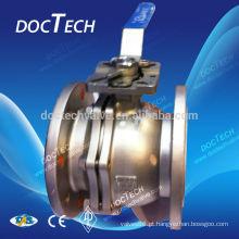 Válvula de esfera de aço inoxidável fabricados na China