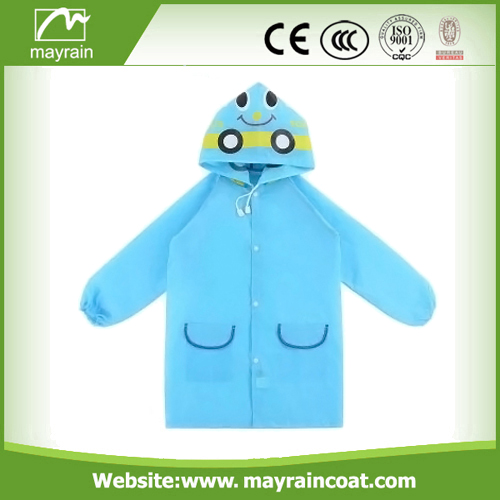 Kids waterproof PVC Rainsuit