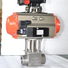 2 способ высокого давления из нержавеющей стали airpowered шариковый клапан