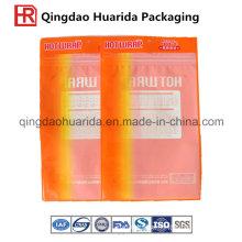 China Factory Supply Transparent EVA Garment Packaging Bag