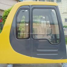 PC100-6 puerta de cabina de excavadora con limpiaparabrisas cabina de accionamiento del operador 20Y-54-00515 20Y-54-00514