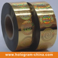 2D DOT Matrix Laser Hologram Hot Foil Stamping