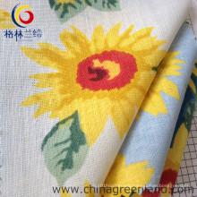 Cotton Linen Printed Woven Fabric for Shirt Garment Textile (GLLML059)