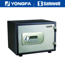 Yongfa 33cm Height Ale Panel Electronic Fireproof Safe with Knob