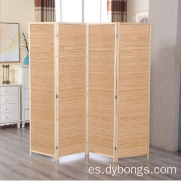 Bamboo hanging screen room divider