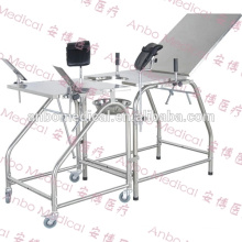 hospital Labor Table Stainless Steel Obstetric Delivery Table