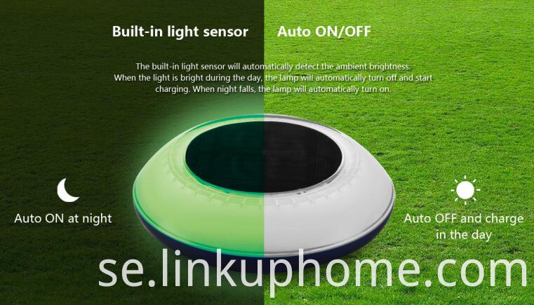 linkuphome solar sensor light