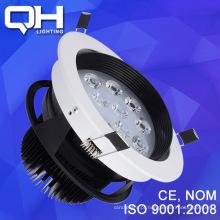 Teto de LED de alta qualidade 12W luz fábrica em Guangzhou