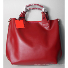 Guangzhou Handbag Simpicity Design Leather Woman Handbag (179)