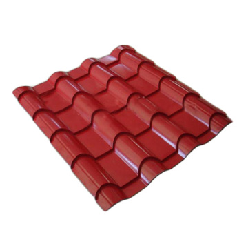 Galvanized glazed tile steel sheet specification