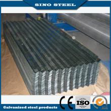 Feuille de toiture galvanisés de 0,23 mm épaisseur Gi