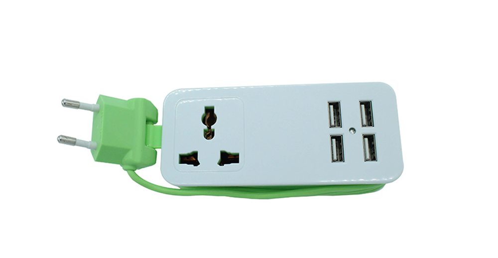 USB Charger Universal Travel Power Strip