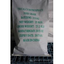 Food Grade Phosphate tricálcico pó fino anidro 3-5um, qualidade superior