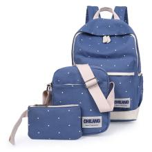 Korean Casual Women Backpacks Canvas Book Bags Preppy Style