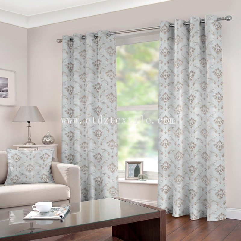 Great tune curtain fabric BZ009-1