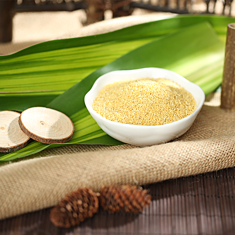 yellow millet fresh