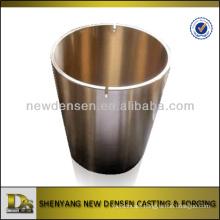 Customized bronze bushing centrifugal casting with machining