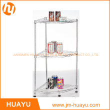Wholesale High Quality Corner Shelf Wire 3 Tier Shower Rack
