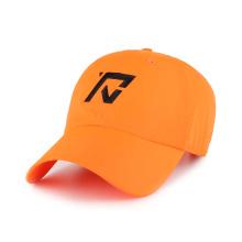 gorra de béisbol con bordado plano y cierre elástico