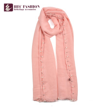 HEC High Quality Promotional All Season Polyester Scarves For Women