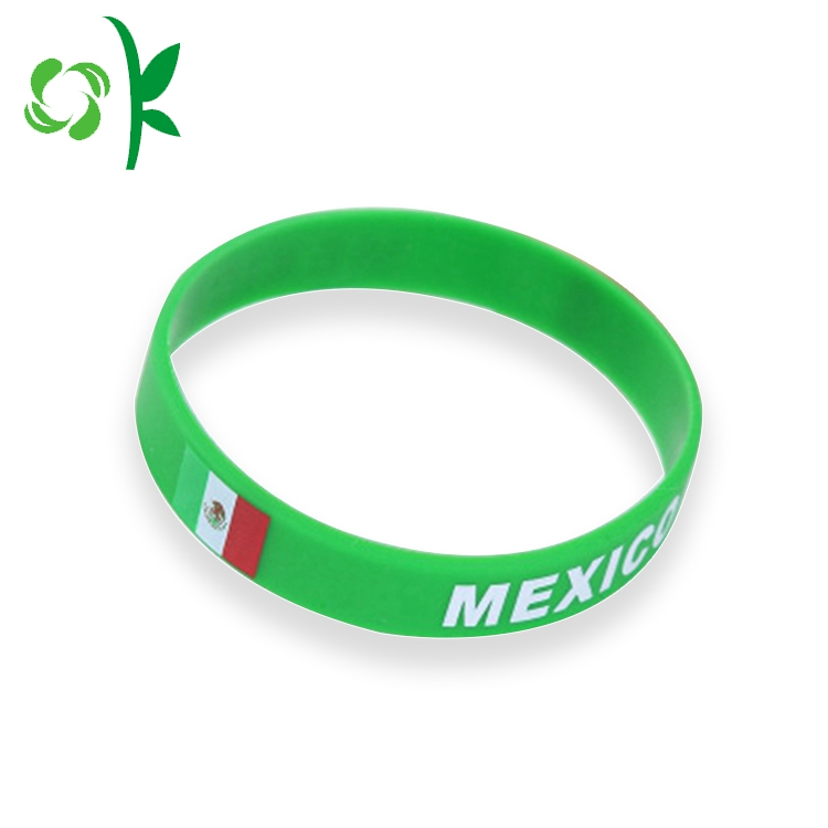 Customized Silicone Bracelet